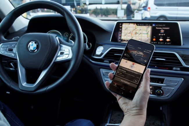 BMW Barcelona Mobile World Congress 2017