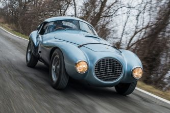 Subasta Ferrari 166 MM212 Export Uovo 1950
