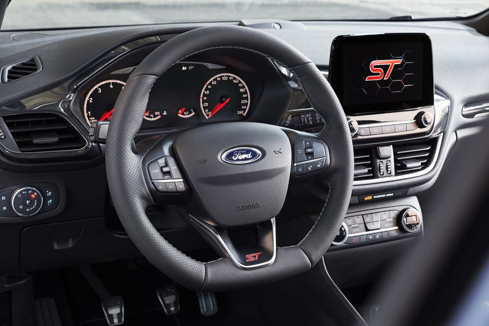 Ford Fiesta ST 2018 interior