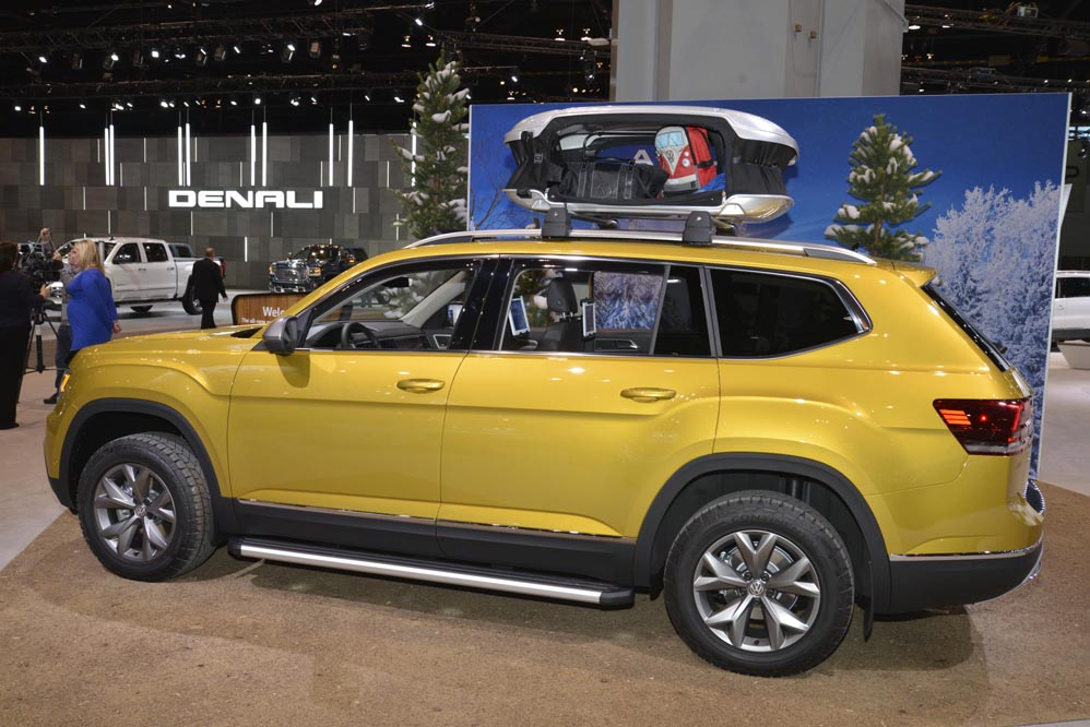Volkswagen Atlas Weekend Edition en el Salón de Chicago 2017
