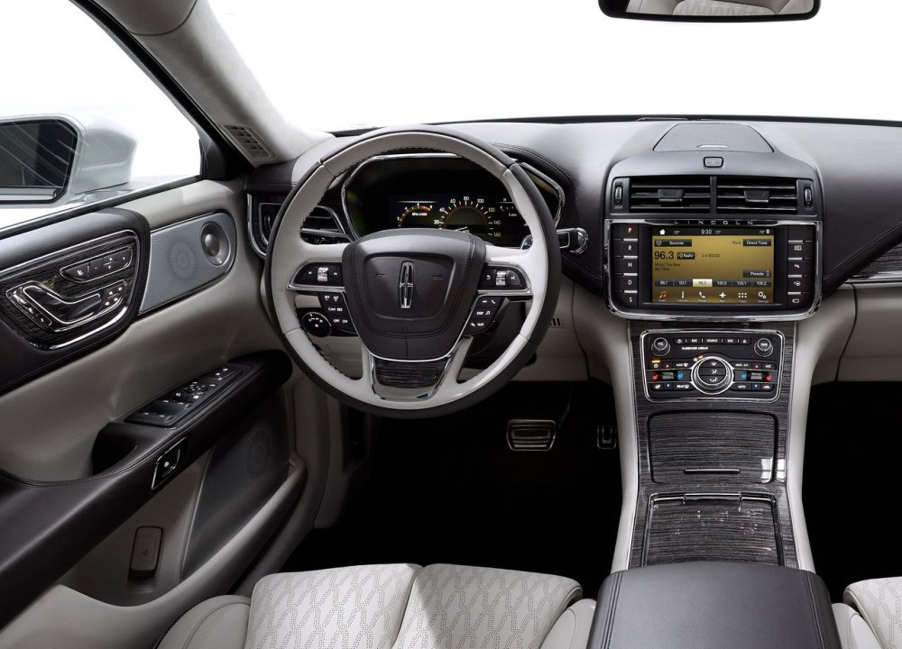 10 mejores interiores 2017 Lincoln Continental