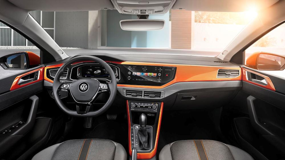 Interior Volkswagen Polo 2017