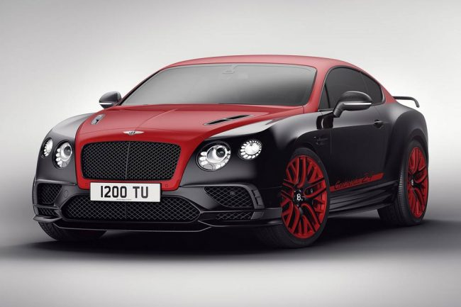 Bentley Continental 24 Limited Edition St James' Red y Black Crystal