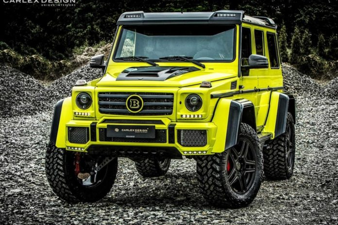 Brabus Mercedes G500 4x4 by Carlex Design