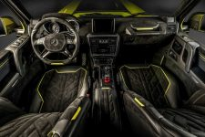 Interior Brabus Mercedes G500 4x4 by Carlex Design