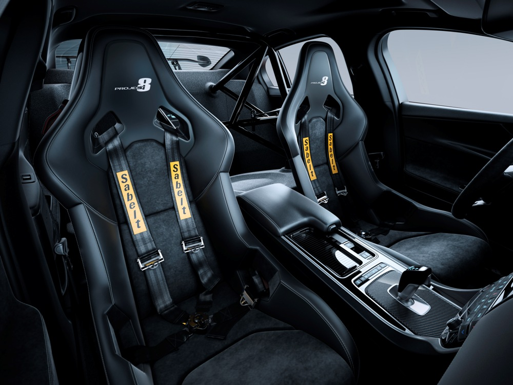 Interior Jaguar XE SV Project 8