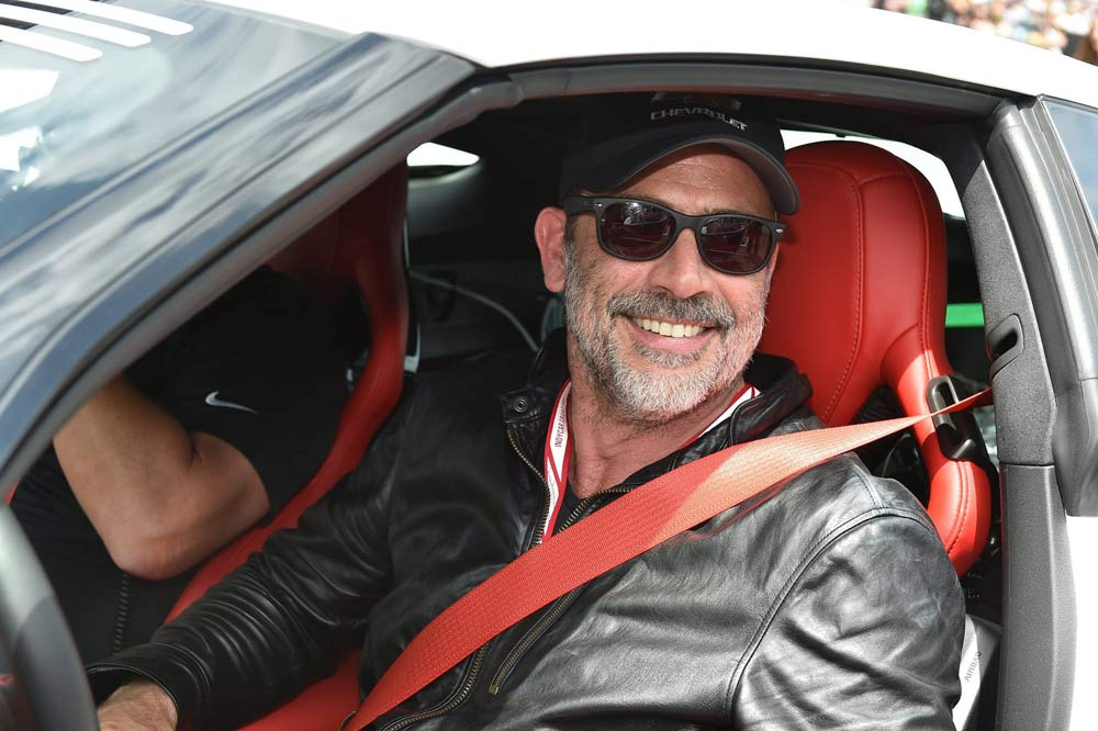 Jeffrey Dean Morgan, Negan en The Walking Dead, Pace Car 2017