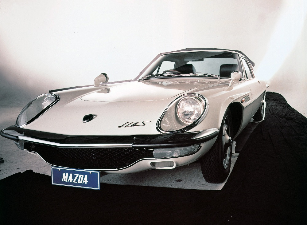 Frontal Mazda Cosmo Sport