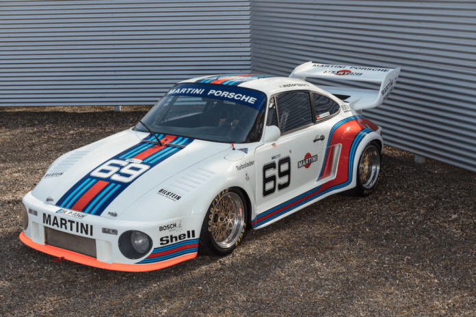 Subasta Porsche 934-5 Kremer Group 4 Martini