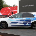 Lateral Volkswagen Golf GTE Performance Concept