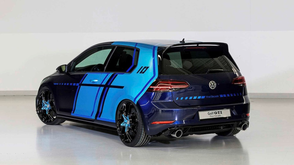Trasera Volkswagen Golf GTI First Decade Concept