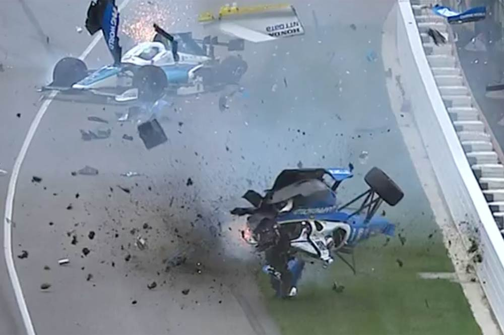 accidente scott dixon