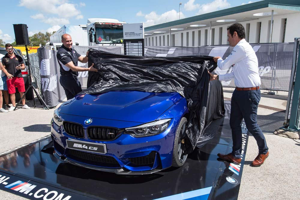 BMW M4 CS BMW Award 2017 de MotoGP