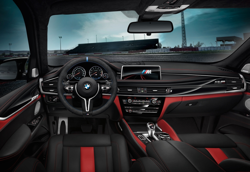 Interior BMW X5 M Black Fire Edition y BMW X6 M Black Fire Edition