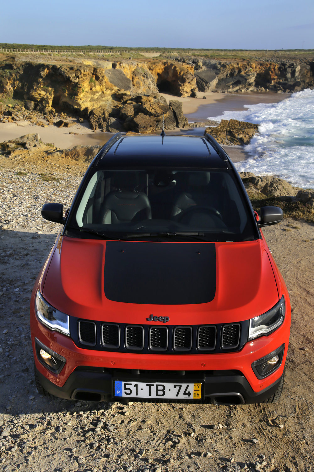 prueba jeep compass trailhawk 2017 18 periodismo del motor. Black Bedroom Furniture Sets. Home Design Ideas