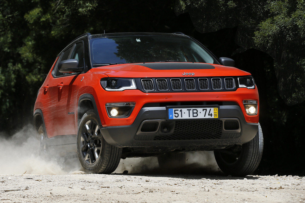 prueba jeep compass trailhawk 2017 2 periodismo del motor. Black Bedroom Furniture Sets. Home Design Ideas