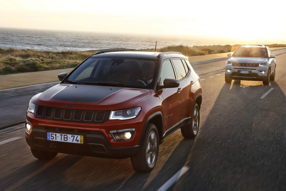 prueba jeep compass trailhawk 2017 5 periodismo del motor. Black Bedroom Furniture Sets. Home Design Ideas