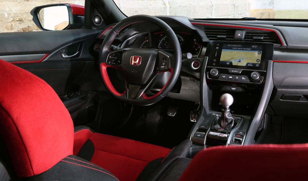 interior Honda Civic Type R 2017