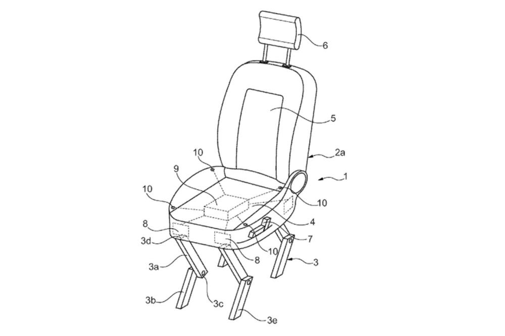 patente Ford asiento