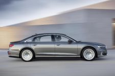 Lateral Audi A8 L 2017