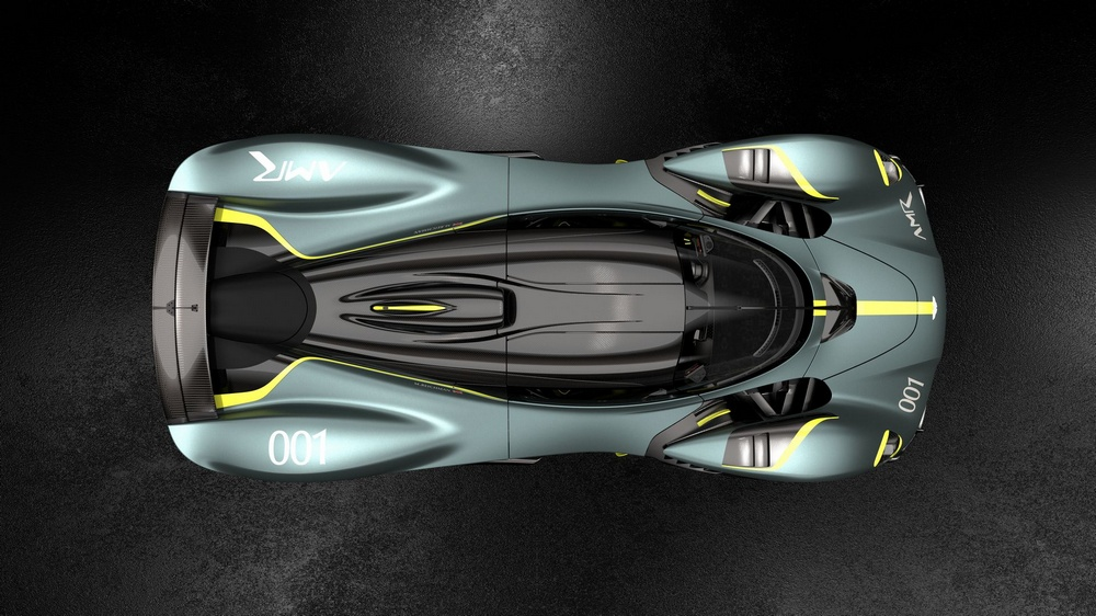 Aston Martin Valkyrie AMR Track Performance Pack techo