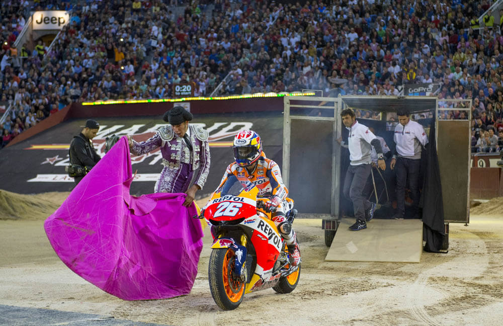 Dani Pedrosa Red Bull X Fighters 2017 Las ventas
