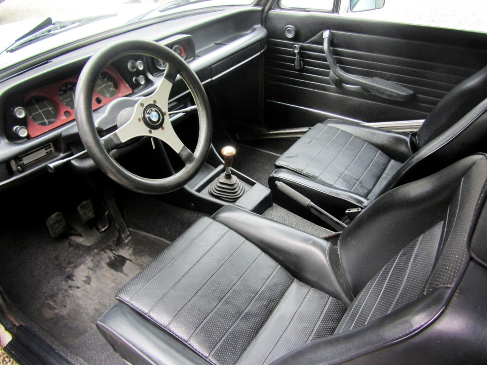 Interior Subasta BMW 2002 Turbo 1974