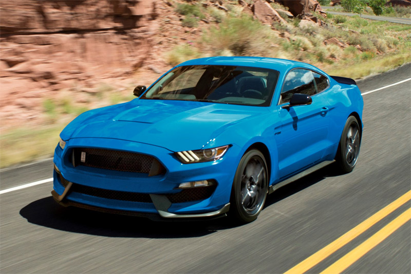 Ford Shelby GT350 Mustang y GT350 2018
