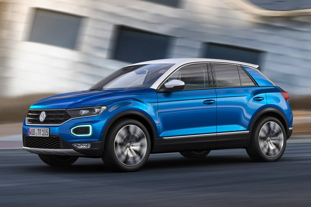 volkswagen t roc 2018 llega el suv compacto periodismo del motor. Black Bedroom Furniture Sets. Home Design Ideas