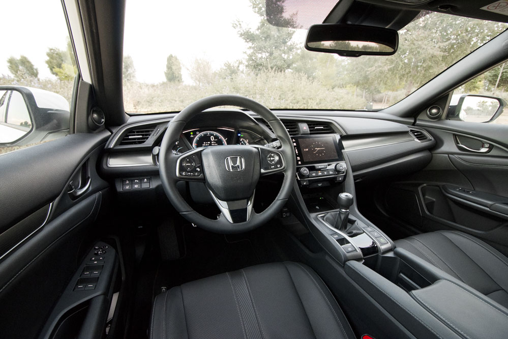 interior Honda Civic 1.0 Turbo