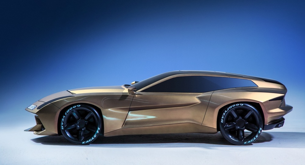 lamborghini shooting brake concept  9