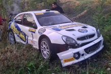 accidente Kris Meeke RallyLegend