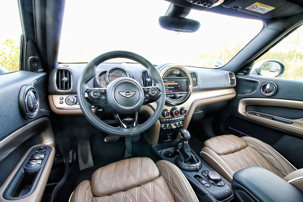 Interior MINI Countryman S E