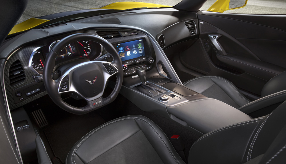 interior Chevrolet Corvette Z06
