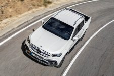prueba Pick-Up Mercedes