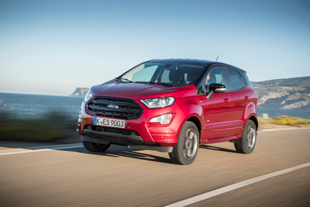 prueba ford ecosport 2018 st line 3 periodismo del motor. Black Bedroom Furniture Sets. Home Design Ideas
