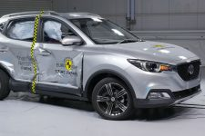 Test Euro NCAP MG ZS