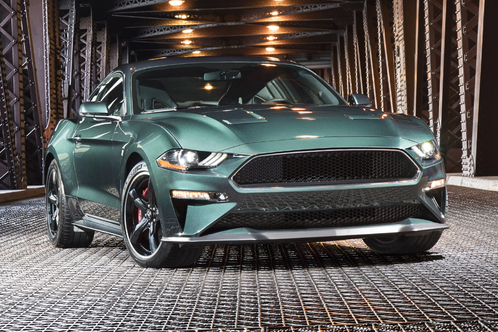 ford mustang bullitt 2018 novedad en el sal n de detroit periodismo del motor. Black Bedroom Furniture Sets. Home Design Ideas