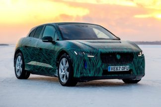 Jaguar I-Pace test