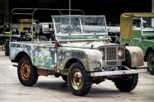 Land Rover Series I 1948 restauración
