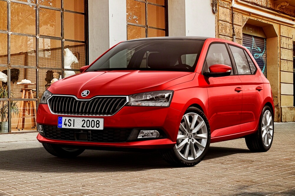 skoda fabia 2018 revelado antes de su debut en ginebra. Black Bedroom Furniture Sets. Home Design Ideas