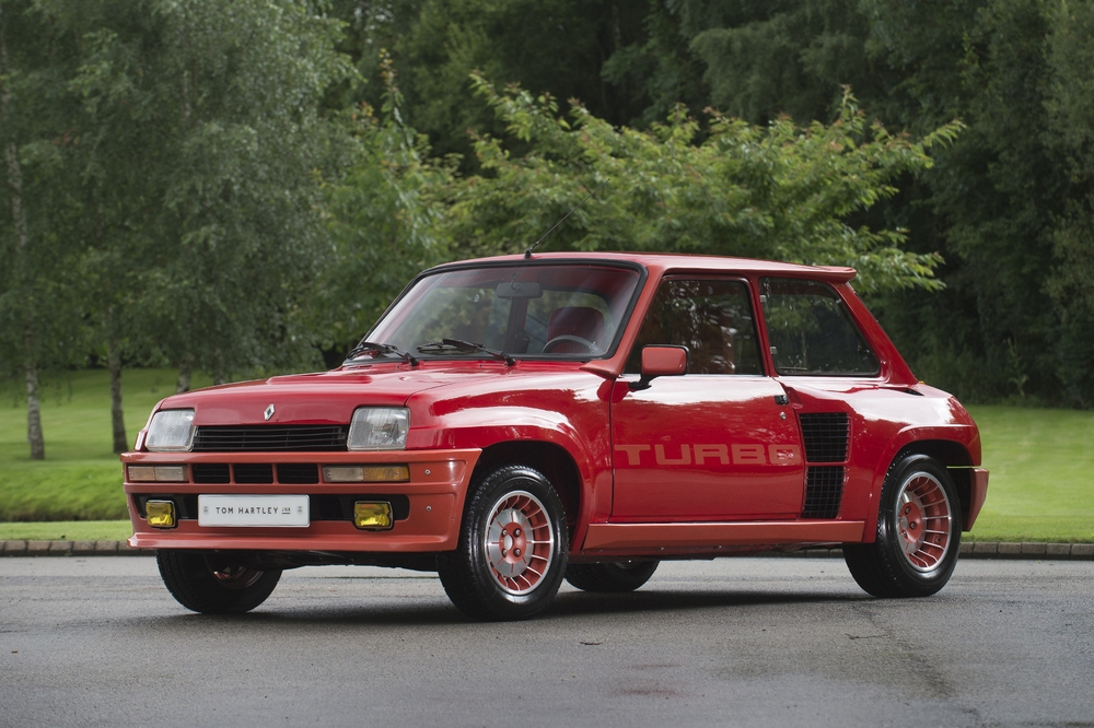 a la venta el renault 5 turbo 1 de 1982 de enzo ferrari. Black Bedroom Furniture Sets. Home Design Ideas