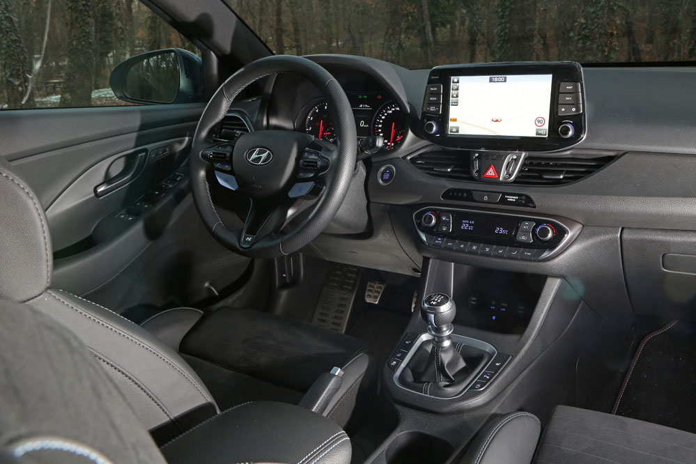 interior del Hyundai i30 N Performance