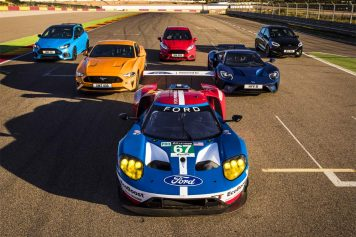 modelos de la gama Ford Performance