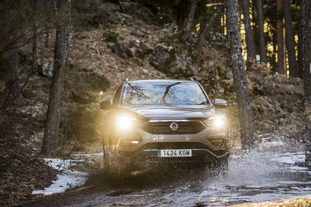 SsangYong Rexton 2018 frontal