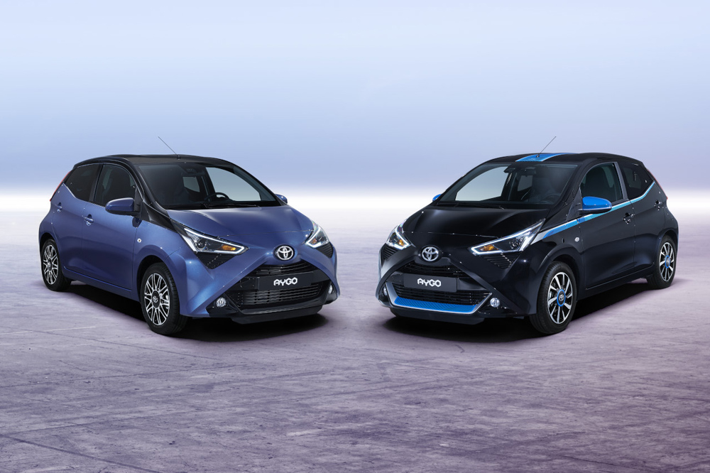 el toyota aygo 2018 debuta en el sal n de ginebra. Black Bedroom Furniture Sets. Home Design Ideas