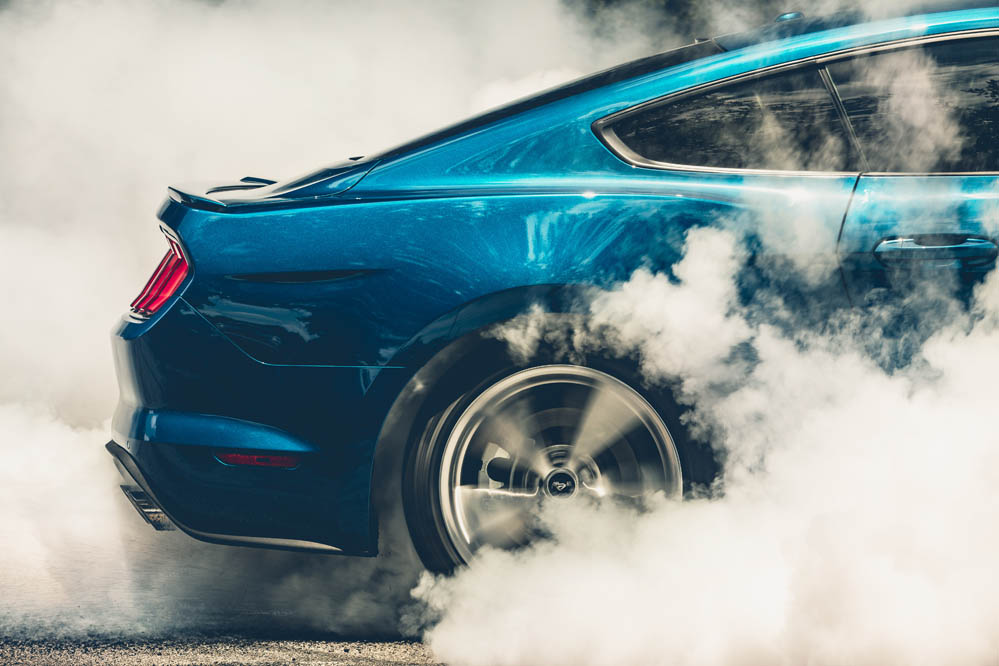 Burnout Ford Mustang 2018