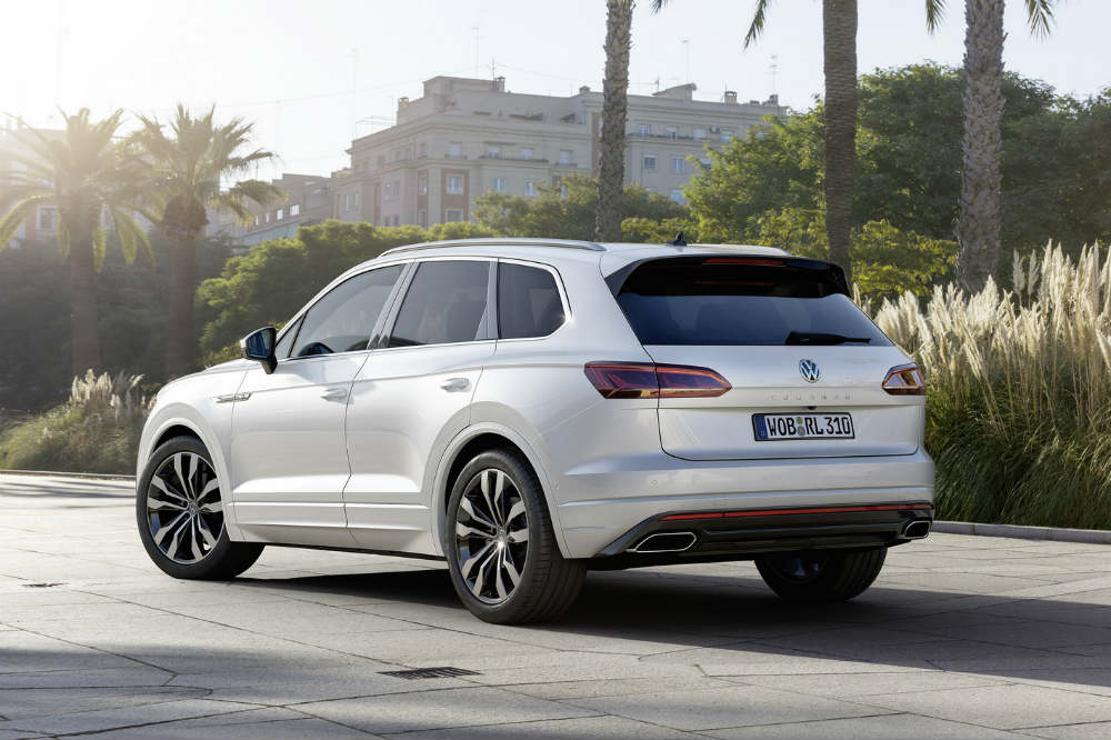 volkswagen touareg 2018 todav a m s premium y tecnol gico. Black Bedroom Furniture Sets. Home Design Ideas