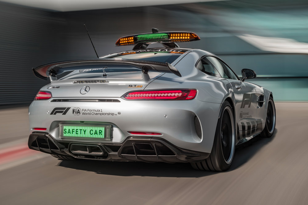 Mercedes-AMG GT R, nuevo Safety Car de la Formula 1