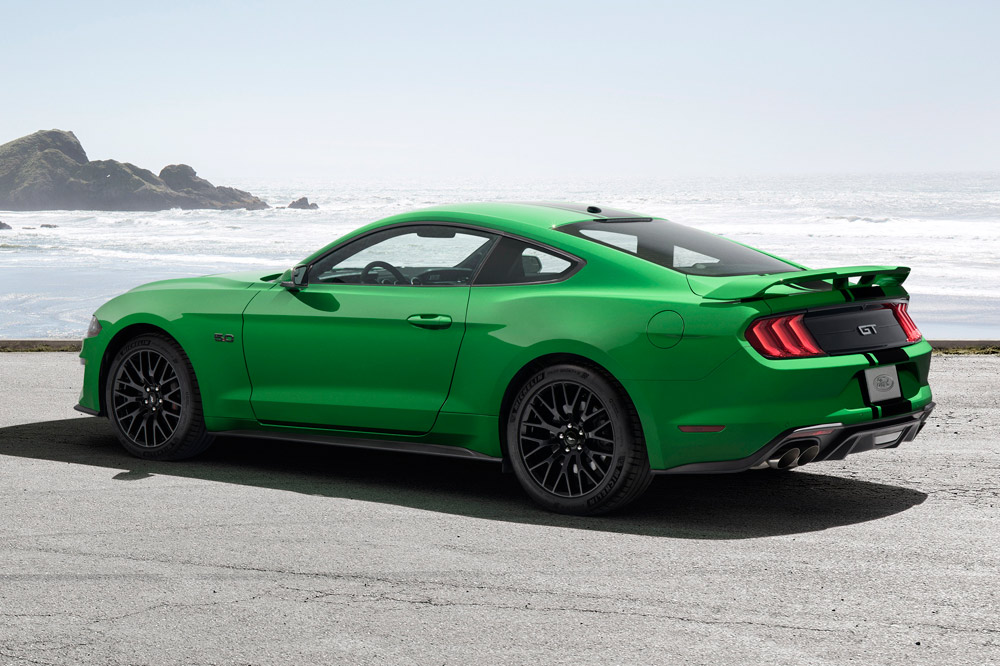 Need for Green pintura verde Ford Mustang